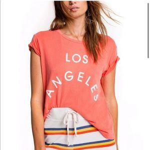 WILDFOX Couture Los Angles No 9 Tee Shirt